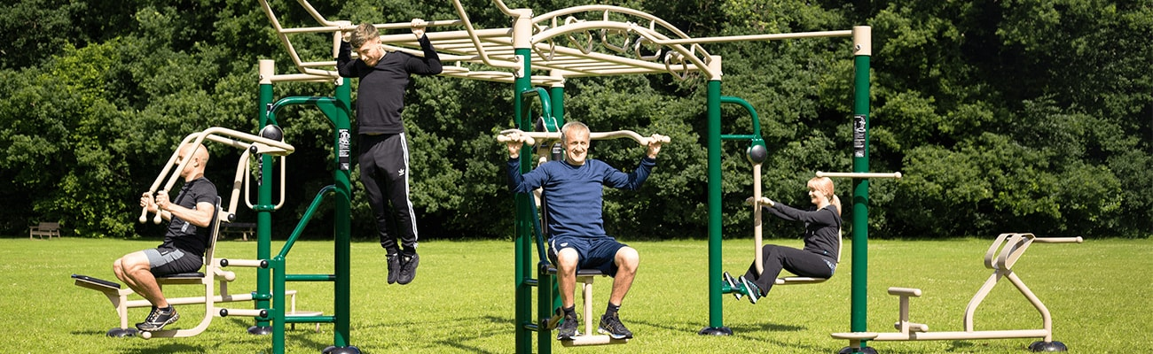Outdoor Gym Equipment, The Big Rig, Fresh Air Fitness