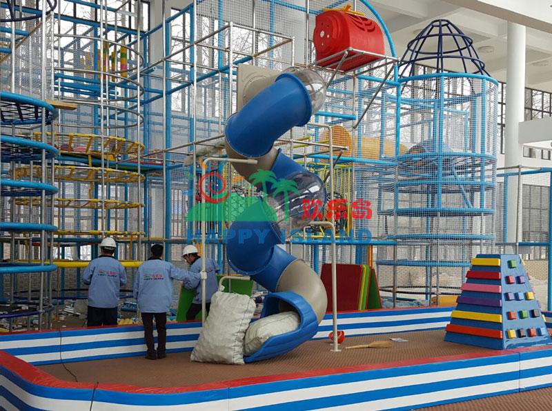 江汉油田水杉公园淘气堡儿童乐园